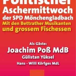 Politischer Aschermittwoch in Mönchengladbach