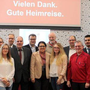 Der neugewählte Vorstand der SPD Mönchengladbach. Herzlichen Glückwunsch! (Es fehlen Julia Laumen, Ute Hermanns und Ursula Schiffer).